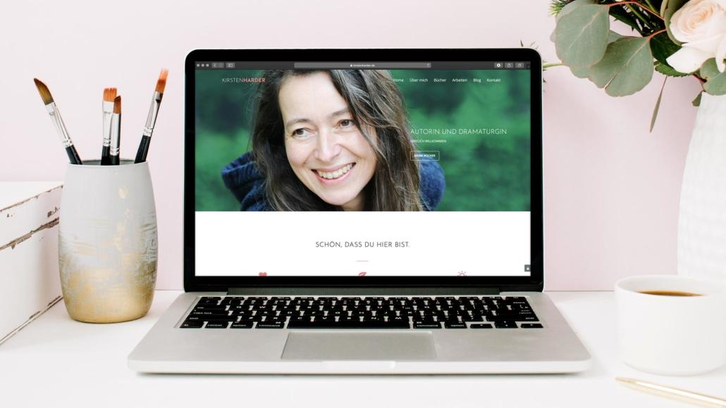 Kirsten Harder Autorin Webdesign