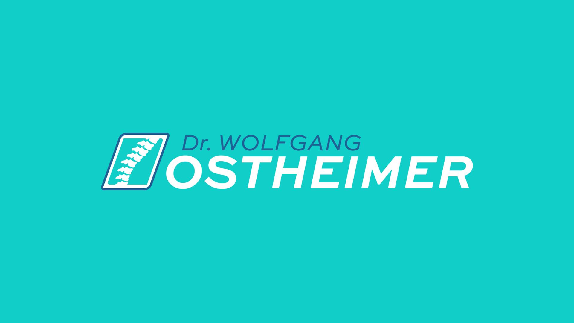 Dr Wolfgang Ostheimer Logo Design