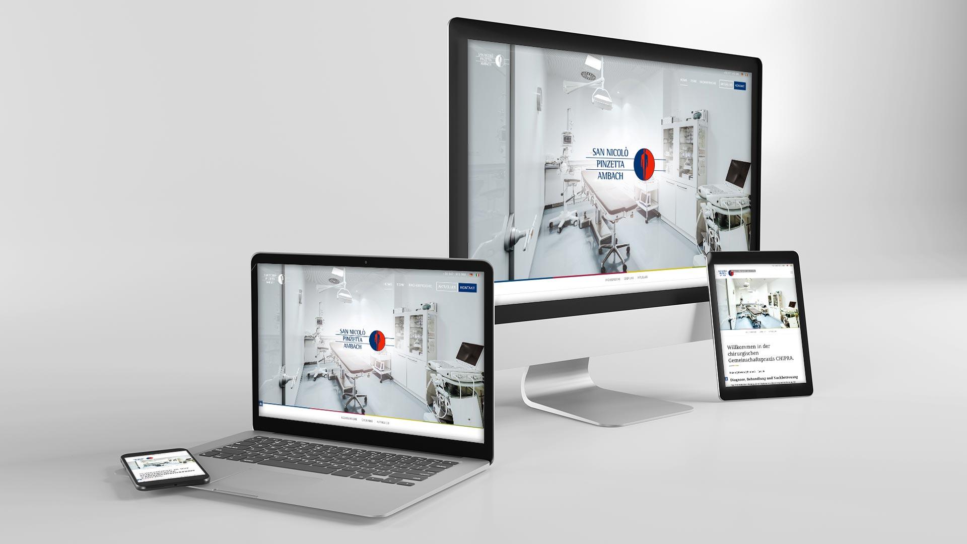 Chirurgische Gemeinschaftspraxis CHIPRA– Responsive Business Webdesign