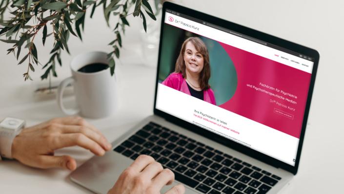 Dr Patricia Kunz Wien Webdesign