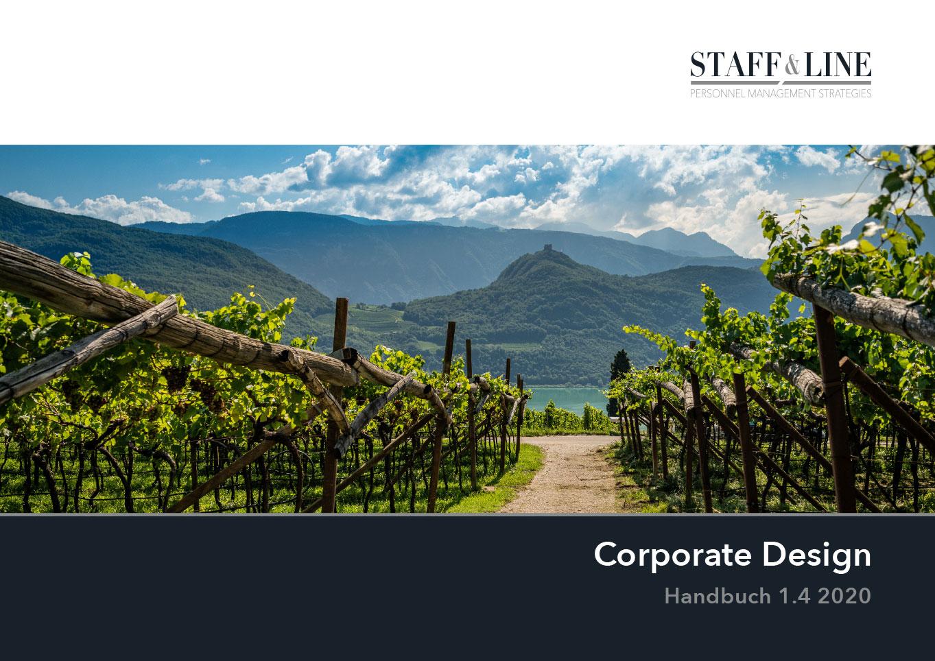 Staff & Line Südtirol Corporate Design