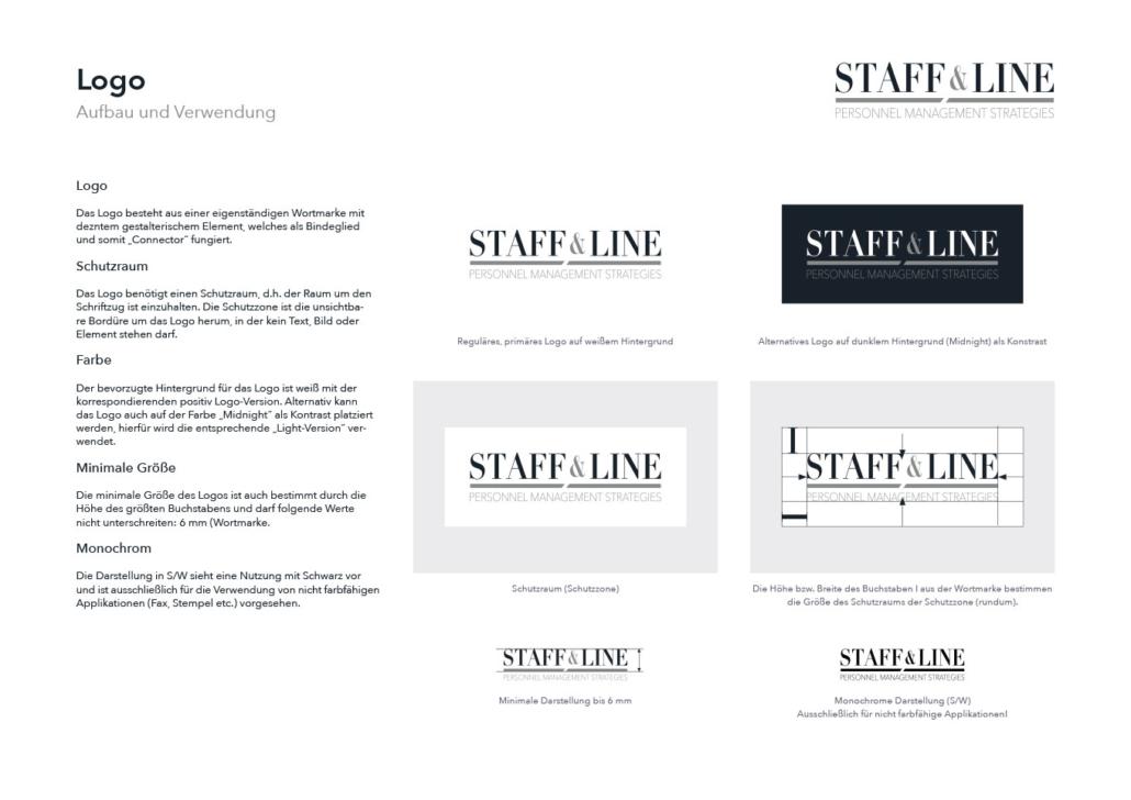 Staff & Line Südtirol Logo & Corporate Design