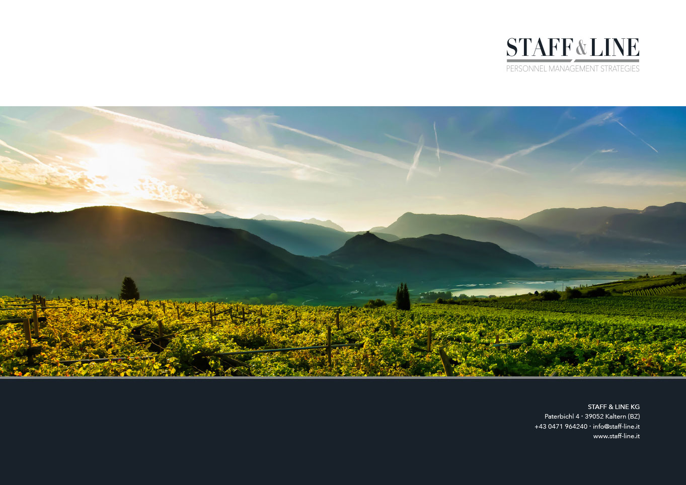 Staff & Line Südtirol Corporate Design