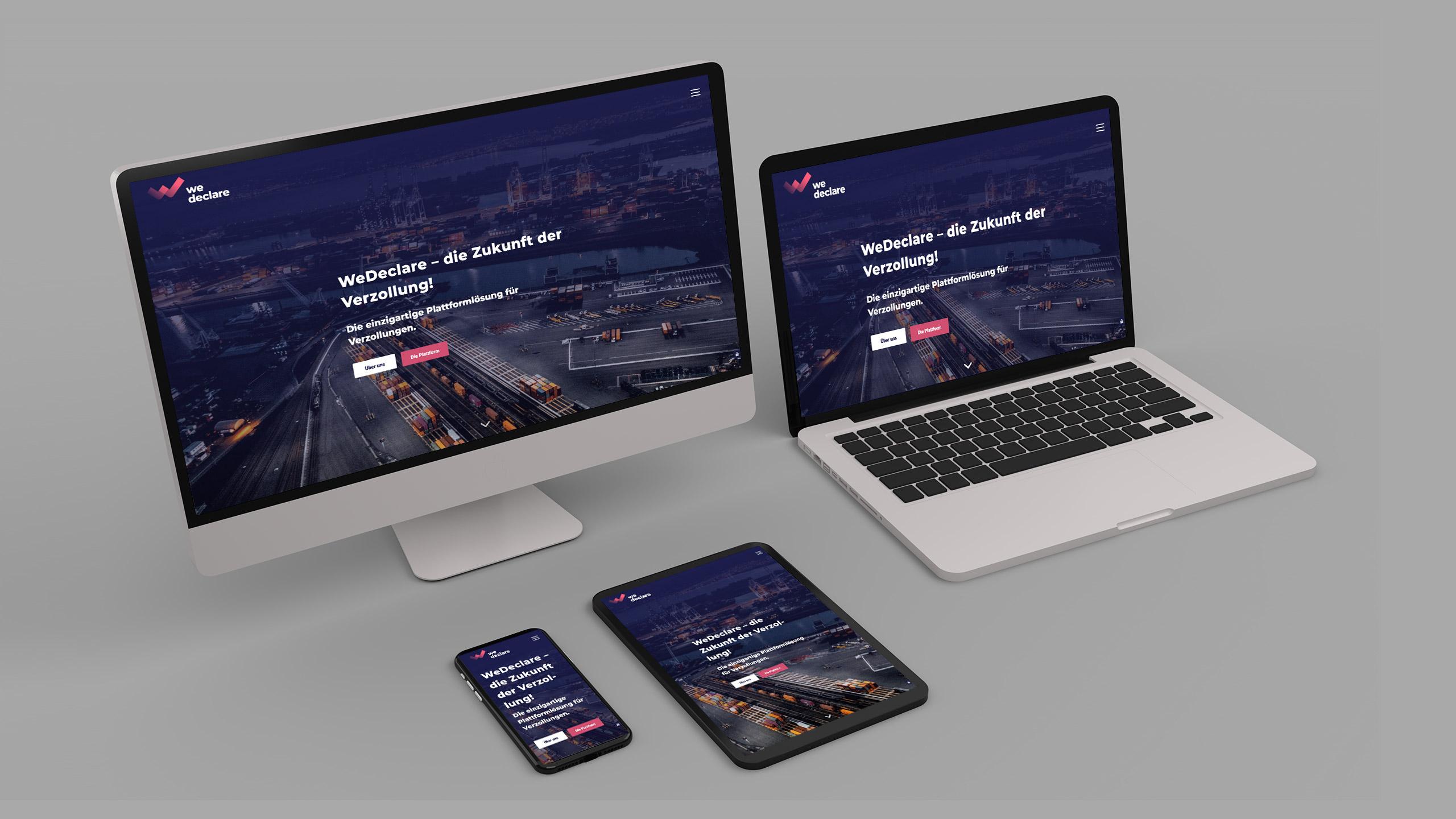 Responsive Webdesign WeDeclare